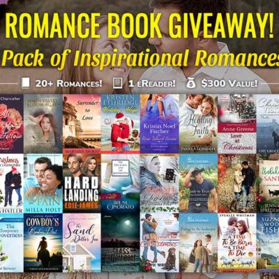 Win a bundle of inspirational romance novels and an eReader!