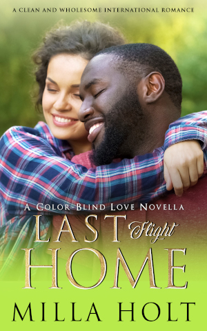 Book Cover Last Flight Home by Milla Holt