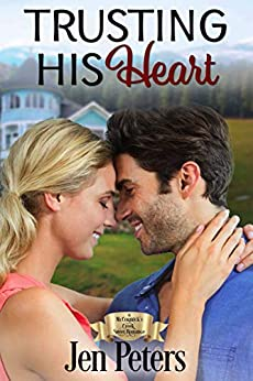 Trusting His Heart by Jen Peters, a clean romance novel